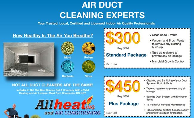 Duct Cleaning Special in Morgan Hill
