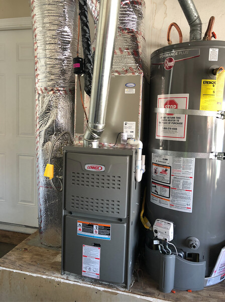 Furnace Replacement: Lennox 80% Model: ML180 in Milpitas, CA (1)