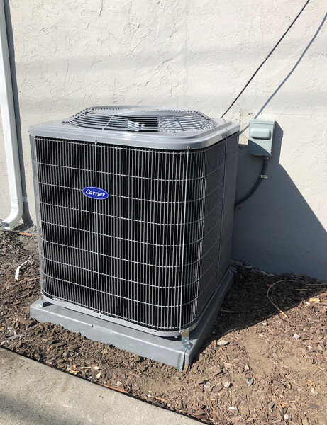 New A/C Installation on Zion Lane in San Jose, CA (1)